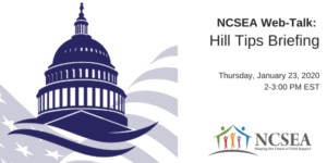NCSEA 2020 Hill Tips Briefing