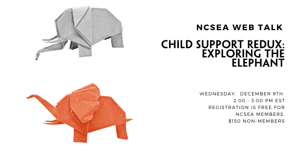 Child Support Redux: Exploring the Elephant